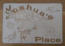 Dinosaur Child's Place Mat